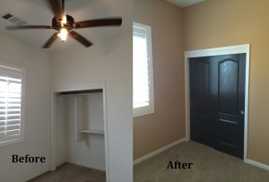 Interior Painting Before and After bakersfield